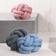 Knot Pillows by Cushion Design Dezeen
