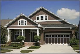 brown paint colors for exterior house painting home design