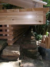 Cantilevered Deck by Mid Century Modern Chris And Ken U0027s Weblog