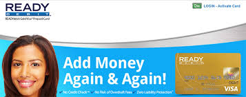ready prepaid card www readydebitgold gold prepaid cards