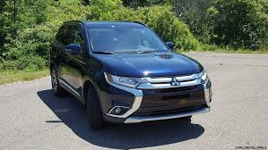 mitsubishi suv 2016 2016 mitsubishi outlander sel s awc road test review by carl malek
