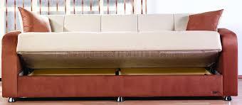 Folding Sleeper Sofa Brown Contemporary Living Room W Fold Sleeper Sofa