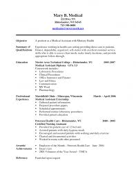Sample Resume Format For Civil Engineer Fresher Cover Letter Example Of Medical Assistant Resume Example Of