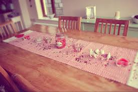 valentines day home decorations decorations valentine u0027s day with beautiful table runner handmade