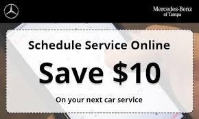 mercedes schedule b service mercedes service specials coupons in ta wesley chapel fl