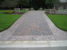 Cost Of Stamped Concrete Patio by Exterior Ideas Stamped Concrete Driveways Costs Pricing Observe