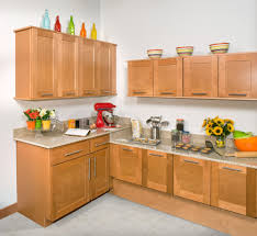 light brown kitchen cabinets