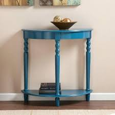 half circle accent table half circle console table topic related to marvellous shop winsome