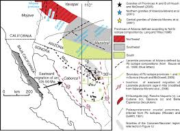 Map Of Sonora Mexico by Stratigraphy Geochronology And Geochemistry Of The Laramide