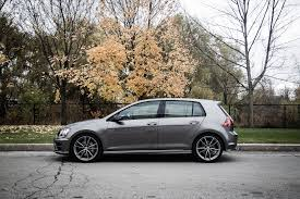 car volkswagen side view review 2017 volkswagen golf r canadian auto review