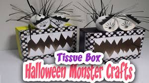 diy monster crafts for kids how to recycle tissue box covers