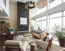 Living Room Metal Fireplace Design Ideas  Pictures Zillow Digs - Living rooms with fireplaces design ideas