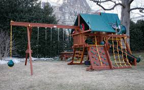 Rainbow Playset The Obamas Donated Their Swing Set Because The Trumps Didn U0027t Want It
