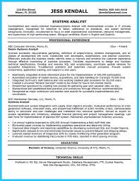 Crystal Report Resume Best Secrets About Creating Effective Business Systems Analyst Resume