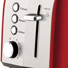 Morphy Richards 2 Slice Toaster Red Russell Hobbs Rht52red Heritage Vogue 2 Slice Toaster Appliances