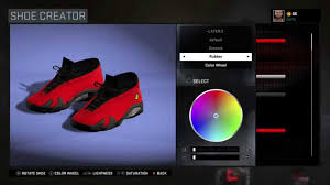 retro ferrari shoes nba 2k16 shoe creator air jordan 14 low custom