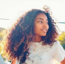 pictures of blonde highlights on natural hair n african american women 276 best long curly wavy hair images on pinterest afro textured
