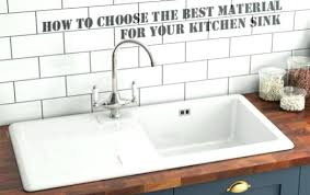 best kitchen sink material kitchen sink materials medium size of modern best kitchen sink
