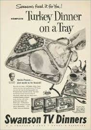 tv dinner baby boomer reflections