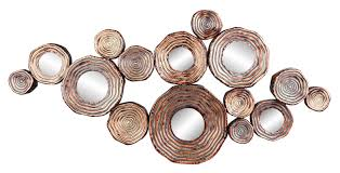 Copper Wall Decor by Circle Metal And Mirror Cluster Wall Decor Allmodern