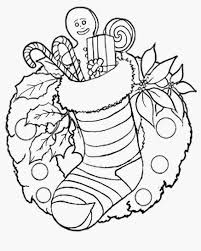 christmas drawings with colour my free printable coloring pages