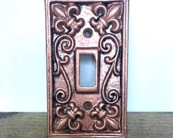 Shabby Chic Switch Plate by Light Switch Cover Anthropologie Wrought Iron Outlet Cover