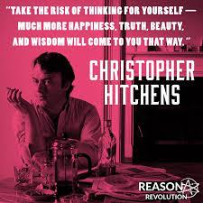 Christopher Meme - christopher hitchens meme reason revolution