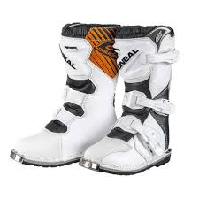 motocross youth boots oneal rider youth boot junior grey white shoes oneal villain