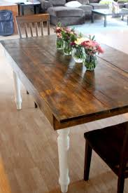 Diy Wooden Table Top diy wood tabletop upgrade delicate construction