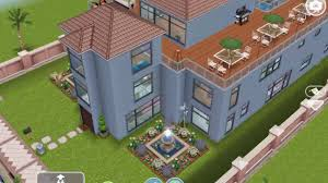 Mansion Design by Sims Freeplay Beach Mansion Original House Design Youtube