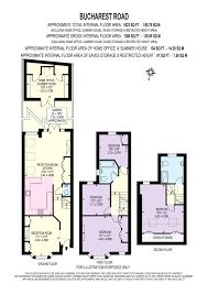 bucharest road london sw18 4 bed terraced house 1 150 000