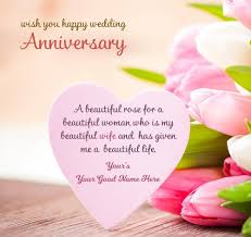 Happy Wedding Anniversary Wishes For 99 Best Anniversary Wishes For Wife Romantic Quotes Saying With