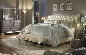 mirrored headboard bedroom set of including with mirror pictures