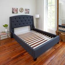 modern sleep solid wood bed support slats bunkie board multiple