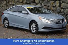used cars hyundai sonata used 2014 hyundai sonata for sale in burlington near boston