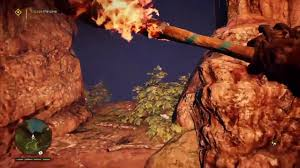 far cry primal trapped escape the cave how to get grappling