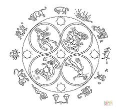 easy mandala flower coloring free printable coloring pages