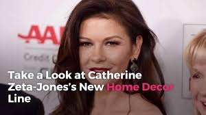 catherine zeta jones is launching a gorgeous new home decor line