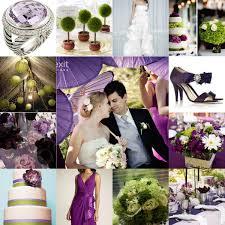 Purple And White Wedding Purple And Green Wedding Niche White Bridal Loft
