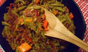 thanksgiving bacon sweet n u0027 sour green beans and bacon we laugh we cry we cook