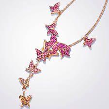 swarovski gold plated necklace images Swarovski collections lilia y necklace multi colored rose jpg