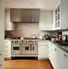 Gray And White And Marble Kitchen Reveal Our  Favorite White - White kitchen cabinets with white backsplash