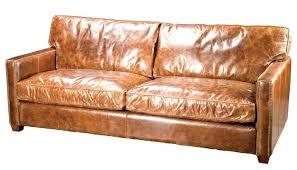 semi aniline leather sofa semi aniline leather sofas russcarnahan com