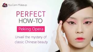 different types of haircuts using beijing youcam makeup how to create the peking opera chinese makeup