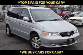 2003 honda odyssey minivan 2003 used honda odyssey 5dr ex l w dvd leather at price wise