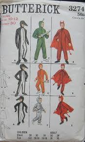 Butterick Halloween Costume Patterns 648 Vintage Costumes Uniforms Images Vintage