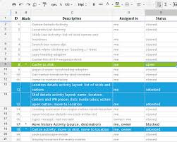 Issue Tracking Excel Template My Minimalistic Agile Issue Tracker