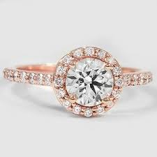gold halo engagement rings halo engagement ring brilliant earth