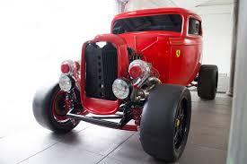 for sale custom u002732 ford with a twin turbo ferrari v8 u2013 engine