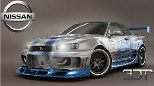 nissan skyline fast and furious 3d tuning nissan skyline gt r the fast and the furious pauls